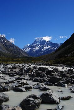 Mount Cook, NZ South Island