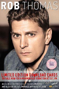 Rob Thomas, Face M, Singers, Handsome, Actors, Movie Posters, Men, Film Poster, Singer
