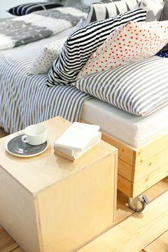 Marimekko A/W 2014. Marimekko, Irene, Finland, New Homes, Bedroom, Decoration, Table, House, Furniture