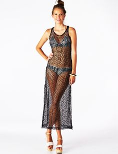 Whisper Mesh Cover Up Dress    Must-have sexy cover-up!