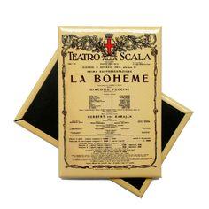 #magnete personalizzato @teatroallascala #promotionalitems #madeinsadesign #merchandising