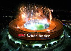 """See 434 photos and 26 tips from 4290 visitors to Ernst-Happel-Stadion. """"Austria's largest stadium, renamed in honor of coaching legend Ernst Happel,. Four Square, Fair Grounds, Outdoor Decor, Travel, Fireworks, Spain, Football Soccer, Pictures, Voyage"""