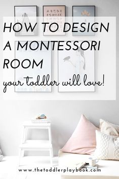 Looking for Montessori bedroom ideas for toddlers? Check out these Montessori toddler room tips and inspiration to help you get started practicing Montessori at home. From Montessori floor bed and Montessori furniture finds to Montessori shelves and more! #montessoriathome #montessorinursery #montessoritoddler #montessoribedroom #montessorispaces #montessori