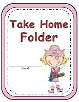 Elementary Work Folders / Daily Folders Covers ~ Pirate Boys Girls Pages! Student Folders, Student Work, Homework Folders, Kindergarten Classroom, Classroom Themes, Student Binder Covers, Take Home Folders, Pirate Kids, School Fun