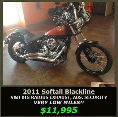 22 best used harley davidson motorcycle images on pinterest harley 2011 softail blackline awesome deal 11995 come into bootheel to see this 1 awesomeharley davidson motorcycles1harley davidson bikes fandeluxe Choice Image