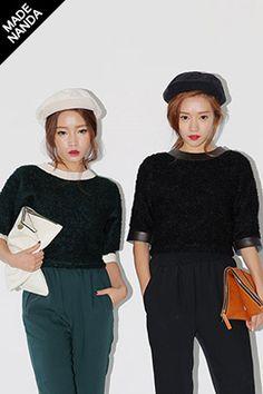 Today's Hot Pick :レザーポイントウール混紡もこもこトップス http://fashionstylep.com/SFSELFAA0025466/stylenandajp/out