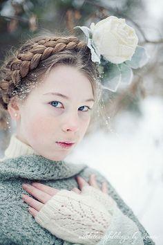 Winter Rose by loretoidas, via Flickr