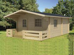 $11,800 Meadowlane Prefab Wooden Cabin Kit For Sale From bzbcabinsandoutdoors.net Solid wood cabin kits --