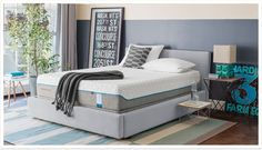 #Tempur #Cloud #Supreme #mattress that gives extra #pillow softness and innovative moisture-wicking keeps you #comfortable. It also #simple to #remove, #wash and #replace. Visit #SleepOne mattress super store in #Kansas #City.