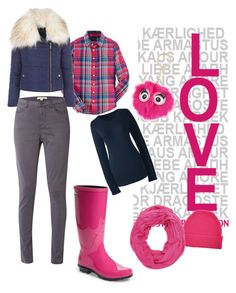 """Keeping warm"" by mom-and-daughters-love on Polyvore featuring UGG Australia, Jane Norman, Orwell + Austen, Charlotte Russe, Kate Spade, White Stuff and Lands' End"