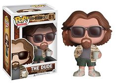 The Big Lebowski goes Pop. The Big Lebowski The Dude Pop. Vinyl Figure features the likeness of actor Jeff Bridges as The Dude rendered in the awesome Pop. Measuring 3 t. The Big Lebowski, El Gran Lebowski, Pop Figurine, Figurines Funko Pop, Jeff Bridges, Vinyl Toys, Funko Pop Vinyl, Vinyl Figures, Action Figures