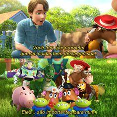 Se eu chorei? Magina Disney Films, Disney And Dreamworks, Disney Pixar, Toy Story 3, Walt Disney Animation Studios, Kids On The Block, Series Movies, Tv, Movie Quotes