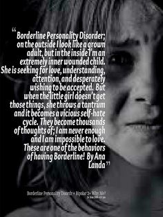 My page site: https://www.facebook.com/BorderlinePersonalityDisorderInsight  MY BLOG: http://simplyeye.wordpress.com/