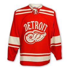 2014 Winter Classic Detroit Red Wings Premier Jersey by Reebok Nhl Winter Classic, Go Red, Team Apparel, Detroit Red Wings, Put On, Team Logo, Reebok, Old School, My Style