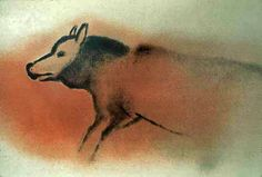 Font de Gaume - Cave Paintings from the Ice Ages Stone Age Art, Wolf, Early Humans, Human Art, Rock Art, Archaeology, Art History, Sculpture Art, Moose Art