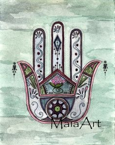 Peace Within Our Hands by maiaart on Etsy, $3.75