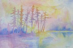 """""""Daybreak""""  Watercolor"""