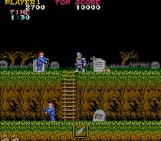 Ghosts and Goblins Video Game Companies, Player 1, Gotham City, Goblin, Free Games, Arcade Games, Games To Play, Ghosts, Instagram Posts