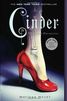 Cinder: Book One of the Lunar Chronicles This fantasy book is new re-imagining of the Cinderella tale finds her living as a mechanic in a future city called new Beijing. #teen #book #Chinese