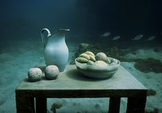 Un-Still Life - Underwater Sculpture by Jason deCaires Taylor