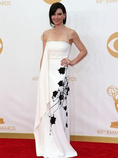 Julianne Margulies in Reed Krakoff