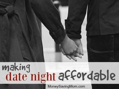 Over the years, my husband and I have always prioritize time together… even when money was tight, we just got creative with how to make date night affordable. After all, the purpose of date night is to relax, to have some fun, and to reconnect with your spouse. None of these things require money. A date that achieves these goals is a success, and it doesn't have to be expensive! If you're looking for a few ways to make date nights more affordable, these suggestions might help!