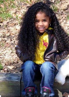 Adults Constantly Ask My Daughter If Her Hair Is Real And It Is So Awkward  Read the article here - http://www.blackhairinformation.com/by-type/natural-hair/adults-constantly-ask-daughter-hair-real-awkward/