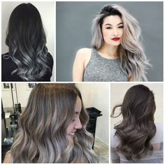 Silver Ombre Hair Colors for 2017