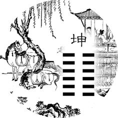 02. ¦¦¦¦¦¦ - Field (坤 kūn) Chinese Book, Learn Chinese, Yi King, Tao Te Ching, Martial Arts Movies, Fantasy Art Women, Japanese Tattoo Art, Golden Flower, Tarot Learning