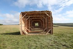 Landscope (Isle of Wight, UK) ← Projects ← Studio Weave Studio Weave, Pavilion Architecture, Woodworking Magazine, Isle Of Wight, House Styles, Projects, Woods, Scale, Pop