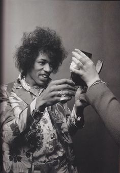 Hendrix would not be stifled by anyone who tried to hamper his creativity...so glad he landed when he did...in the time when the  brits thought they had discovered the blues, in stepped Jimi to bring it all back home...none of them took him too seriously at first, that is, until they heard him play....