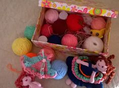 box for doll