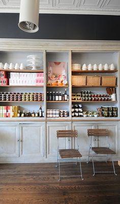Bella Cucina | Atlanta Ceiling, Shelves, Paint Color