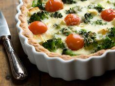 Feta, Quiche, Good Food, Pie, Baking, Dinner, Breakfast, Recipes, Foods