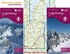 Alpes du Lyngen - Découvrez nos nouvelles cartes du massif (Nord et Sud) http://www.aventurenordique.com/carte-alpes-du-lyngen-sud-norvege.html