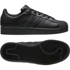 Superstar 2.0 Shoes ($70) ❤ liked on Polyvore featuring shoes, grip shoes, adidas shoes, traction shoes, adidas footwear and herringbone shoes