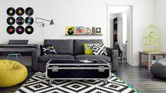 LAPPLJUNG RUTA rug from IKEA; living room idea