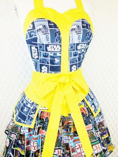 Star Wars Kitchen Apron-ok someone better buy me this when I get a house!!!!!!!