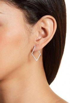 #SilverDropEarrings Jewelry Tags, Body Jewelry, Fine Jewelry, Diamond Hoop Earrings, Crystal Earrings, Stud Earrings, Wire Earrings, Silver Hoop Earrings, White Gold Bridal Jewellery