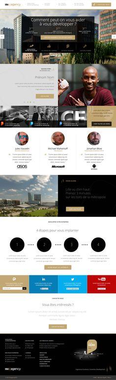 Conception et Direction Artistique Site en Responsive Design dans le cadre d'une compétition pour Lille'sAgency. #webdesign #e-commerce