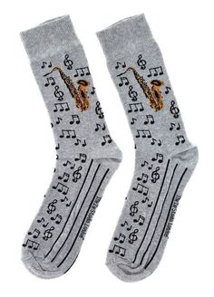 Anka Verlag Pair of Socks Saxophone - Thomann www.thomannd.de #style #fashion #clothing #music #lifestyle #ootd #music #musical #brass #gift #sax #saxophon #socks