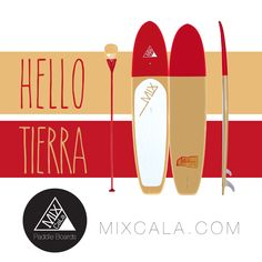 """[ HELLO TIERRA ] Do you love CaLa Red and Tan? MixCaLa Tierra is painted in a sandy tan, fiery red duotone and finished with a glass-like varnish. Only weight 29 lbs. Check out more color combination & matching Paddles. What's Your CALA?  #SUP #Colorful #Tan #Red #Fashion #Stylish #Paddleboard #Fitness #Yoga #Style #Colorblock #Trending #DIY #Best #Pretty #Design #Cool #Color #Duotone #Fun #SUPlove #Like #Top #Surfing #Outdoor #Ocean #Beach #Howto #MIX  Mix Your Own """"CaLa"""" only at…"""