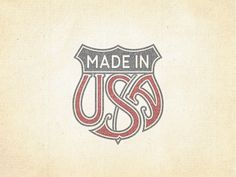 »Made In USA« Trade Emblem ...
