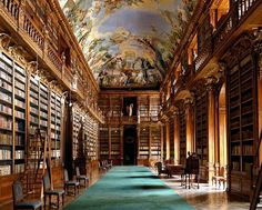 Grandes bibliotecas europeias: fotografias de Massimo Listri