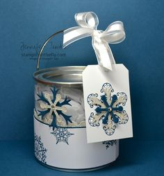 decorating cans | ... can and the coordinating tags i just love these little cans that i