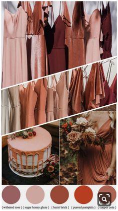 Wedding Mood Board, Wedding Goals, Wedding Themes, Our Wedding, Dream Wedding, Fall Bridesmaid Dresses, Bridesmaids And Groomsmen, Wedding Bridesmaids, Fall Wedding Colors