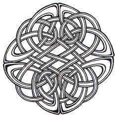 brave celtic knot. celtic knots are complete loops without beginning or end--pure knots. symbolize the interconnectedness of life/ eternity/ relationships. father/ daughter knot