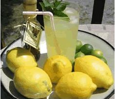 Collection of lemonade recipes