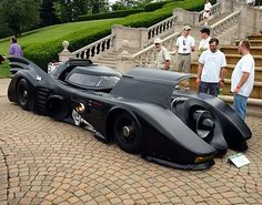This guy made his own Batmobile.... with a JET ENGINE!!!! Holy crap!