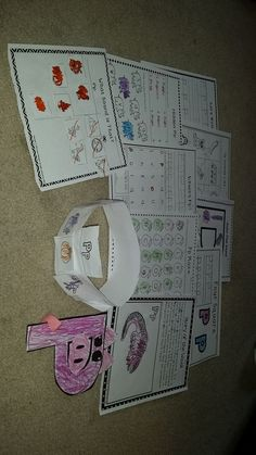 FREE!!! Letter of the Week P packet is a free packet for you to use. It contains 9 different worksheets and 2 crafts!